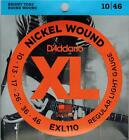 Satz E Gitarrensaiten D Addario EXL  008...056 Nickel Wound guitar strings
