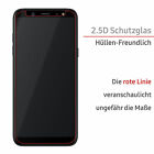 2x Panzer Display Glas Folie Schutz Cover 9H Tempered Screen Protector Echt Klar
