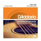 D'Addario EJ Phosphor Bronze Acoustic Guitar Strings - EJ15  EJ16  EJ17  EJ26